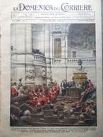 La Domenica Del Corriere 22 Gennaio 1933 Duce Giustizia Cisneros Bolama Mostri - Libri, Riviste, Fumetti