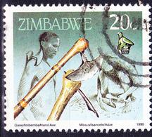 Simbabwe - Axt (Mi.Nr.: 425) 1990 - Gest. Used Obl. - Zimbabwe (1980-...)