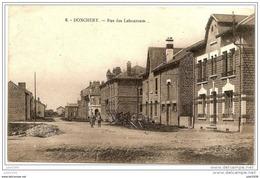 DONCHERY ..--  Rue Des Laboureurs . Vers BELLEVAUX ( Mr Mme Léon GOFFIN ) . Voir Verso . - Sedan