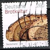 Bund 2018, Michel# 3390 O  Deutsche Brotkultur Selbstklebend Aus Markenheft 110 - BRD