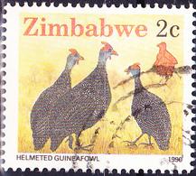 Simbabwe - Helmperlhuhn (Numidia Meleagris) (Mi.Nr.: 419) 1990 - Gest. Used Obl. - Zimbabwe (1980-...)