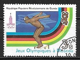 GUINEE    -    NATATION  /  PLONGEON    -   Oblitéré - High Diving