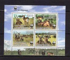 Guinea-Bissau 2008 Animals WWF MNH Mi.3919-22 - Stamps