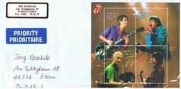 2003 18. Juni Mick Jagger Mi BL21 Sn AT 1924 Yt AT BF25  Sg AT MS2679 AFA AT 2324-27 ANK AT BL23 S. Scan - Blocks & Kleinbögen
