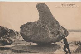 Trégastel La Roche Branlante  1913 - Trégastel