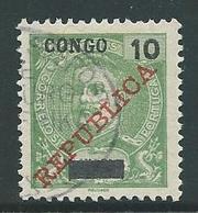 Correios Portugal 10 Reis Met Opdruk Congo Republica - Angola