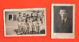 Venezia Caserma Lagunari Matter Di Mestre Old Photo 1943 - Guerra, Militari