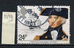 Grande Bretagne - Great Britain - Großbritannien 1982 Y&T N°1049 - Michel N°920 (o) - 24p Lord Nelson - 1952-.... (Elizabeth II)