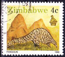 Simbabwe - Pangolin (Manidae) (Mi.Nr.: 421) 1990 - Gest. Used Obl. - Zimbabwe (1980-...)