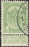"COB   83  (o) Oblitération ""Brussel Bruxelles 1 K"" - 1893-1907 Armoiries"