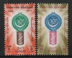 IRAQ / IRAK - N°438/9 ** (1966) - Iraq