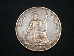 ONE PENNY GEORGES VI GRANDE BRETAGNE 1948   (lot Sct N°27) - 1902-1971 : Monnaies Post-Victoriennes