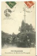 94 - JOINVILLE LE PONT / PEYRUSSON - RECORDMAN DU MONDE DE PLONGEON - Joinville Le Pont