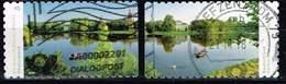 Bund 2018, Michel# 3405 - 3406 O Dessau-Wörlitz Garden, Selbstklebend - BRD