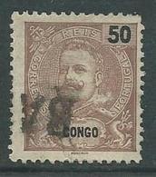 Correios Portugal 50 Reis Met Opdruk Congo - Angola
