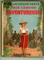 """Ancienne B.V. -  Jack London - """"L'aventureuse"""" - 1946 - Books, Magazines, Comics"""