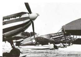 PHOTO AVION DEWOITINE D 520 EN ALIGNEMENT  12X8CM - 1946-....: Era Moderna