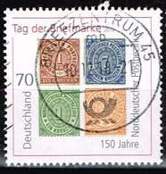 Bund 2018, Michel# 3412 O Tag Der Briefmarke : 150 Jahre Norddeutscher Postbezirk - BRD