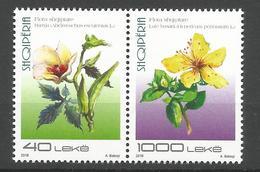 AL 2018-05 FLOWERS, ALBANIA, 1 X 2v, MNH - Albanie
