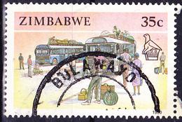 Simbabwe - Busse + Reisende (Mi.Nr.: 431) 1990 - Gest. Used Obl. - Zimbabwe (1980-...)