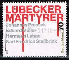 Bund 2018, Michel# 3417 O Lübecker Märtyrer - BRD