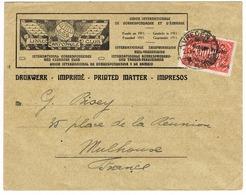 ALLEMAGNE 1923 Imprimé De VREDEN Munster Pour MULHOUSE ALSACE Affrt Timbre 16 Milliarden / Gebühr Bezahlt / TAXE PERCUE - Lettres & Documents