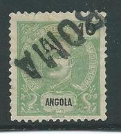 Correios Portugal 10 Reis Met Opdruk Angola - Angola