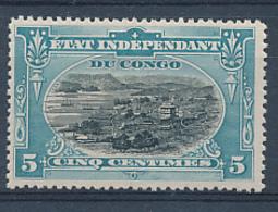 BELGIAN CONGO COB 14 MNH MINOR FAULT ON THE GUM - Congo Belge