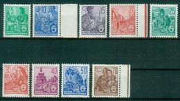 DDR 1957 / MiNr.    577 – 585 A   ** / MNH   (o4252) - DDR