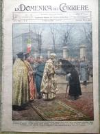 La Domenica Del Corriere 5 Febbraio 1933 Feste A Sofia Mata Hari Chicago Scacchi - Libri, Riviste, Fumetti