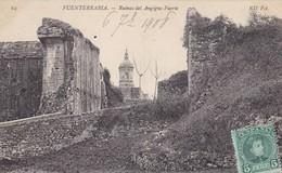 ESPAGNE.  FUENTERRABIA.  RUINAS DEL ANGIGNO FUERTE. ANNEE 1908 - Guipúzcoa (San Sebastián)
