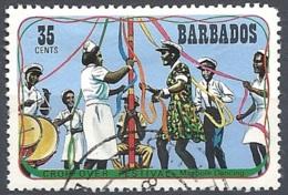 Barbados, 1975 Crop-over Festival, 35c Multi # SG. 533 - Michel 395 - Scott 426  USED - Barbades (1966-...)