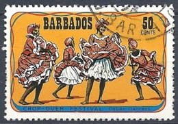 Barbados, 1975 Crop-over Festival, 50c Multi # SG. 534 - Michel 396 - Scott 427  USED - Barbades (1966-...)