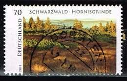 """Bund 2018, Michel# 3428 O Serie """"Wildes Deutschland"""": Schwarzwald – Hornisgrinde - BRD"""