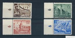 Germany , Empire , Michel-No. 739-742 , Mint (as Per Scans) MNH - Deutschland