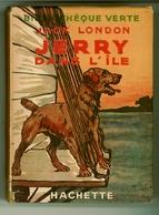 """Ancienne B.V. -  Jack London - """"Jerry Dans L'île"""" - 1946 - Books, Magazines, Comics"""