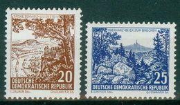 DDR 1961 / MiNr.   815 – 816   ** / MNH   (o4253) - DDR