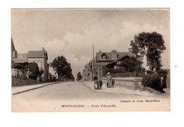 CPA 76 - Montivilliers - Route D'Epouville - Montivilliers