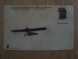"""CPA MONOPLAN """" DEPERDUSSIN"""" PILOTE PAR MARIUS LACROUZE - Aviateurs"""