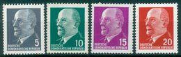 DDR 1961 / MiNr.   845 – 848   ** / MNH   (o4255) - DDR