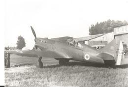 PHOTO AVION DEWOITINE D510   N°474   LILLE    12X8CM - 1946-....: Era Moderna