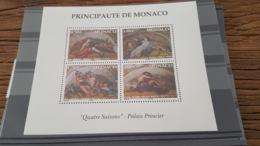 LOT 436928 TIMBRE DE MONACO NEUF** LUXE FACIALE - Monaco