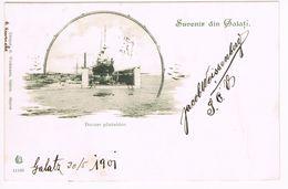 AK Rumänien, Galatz, Galati, Gel. 1901 - Rumänien