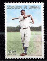 Sénégal ** N° 1371 - Hommage Au Gd Joueur De Base-ball Jackie Robinson - Sénégal (1960-...)