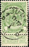 "COB   83  (o) Oblitération ""Jumet 1 D"" - 1893-1907 Armoiries"