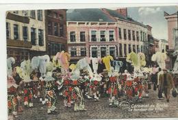 Carnaval De Binche Le Rondeau Des Gilles   (10539) - Thuin
