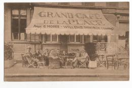 Diekirch Grand Café De La Place Carte Postale Ancienne Animée - Diekirch
