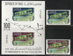 IRAQ / IRAK - PA N°32/33 + Bloc  ** (1969) - Iraq