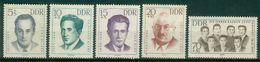 DDR 1962 / MiNr.   918 – 922   ** / MNH   (o4257) - DDR
