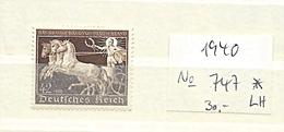 Germany , Empire , Michel-No. 747 , Unused With Hinge  (as Per Scans) LH - Deutschland